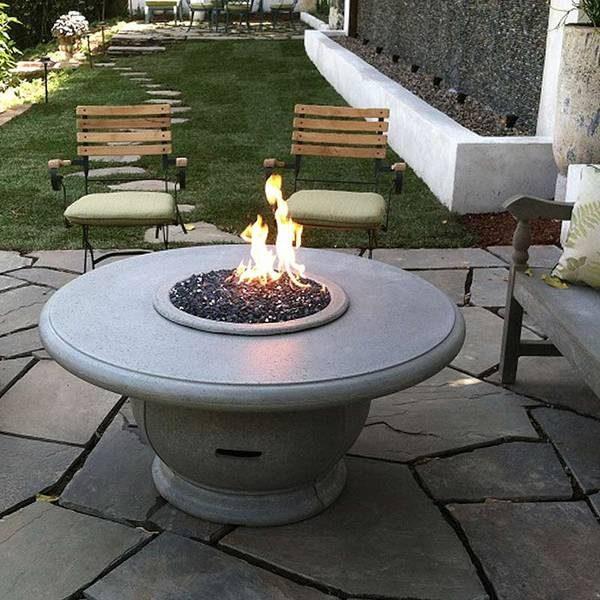 Amphora U2013 Concrete Fire Table