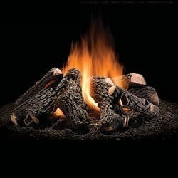 Wilderness Oak Outdoor Gas Fire Pit Logs - 30""