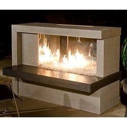 Manhattan Fireplace W/ Stainless Steel Firebox