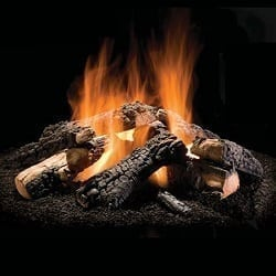 Wilderness Charred Outdoor Gas Fire Pit Logs - 50""