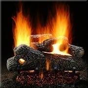 Classic Oak Log Set with Burner